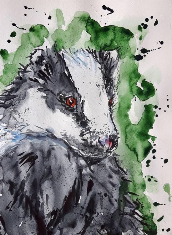 """Badger cub"" - Image 0"