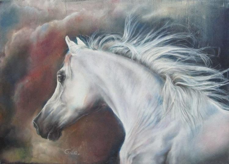 White horse nO2 - Image 0