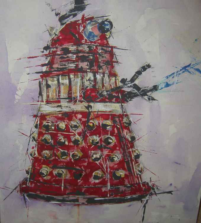 Dr Who..Dalek EXTERMINATE !! -