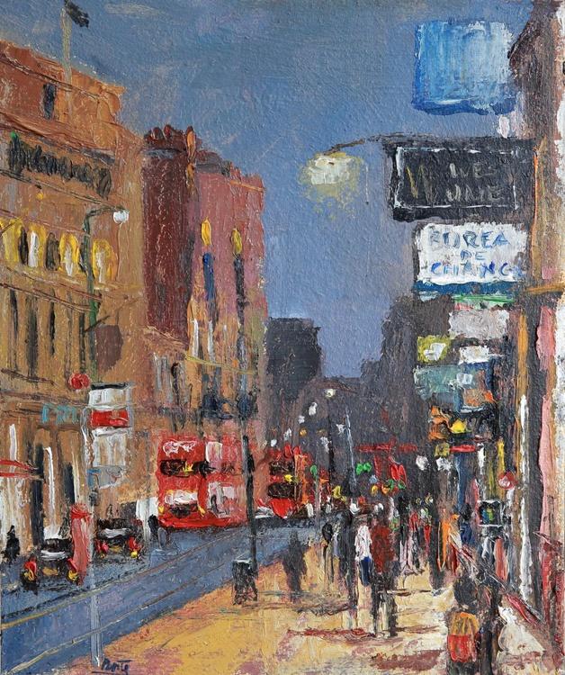 London Oxford Street Nocturne - Image 0