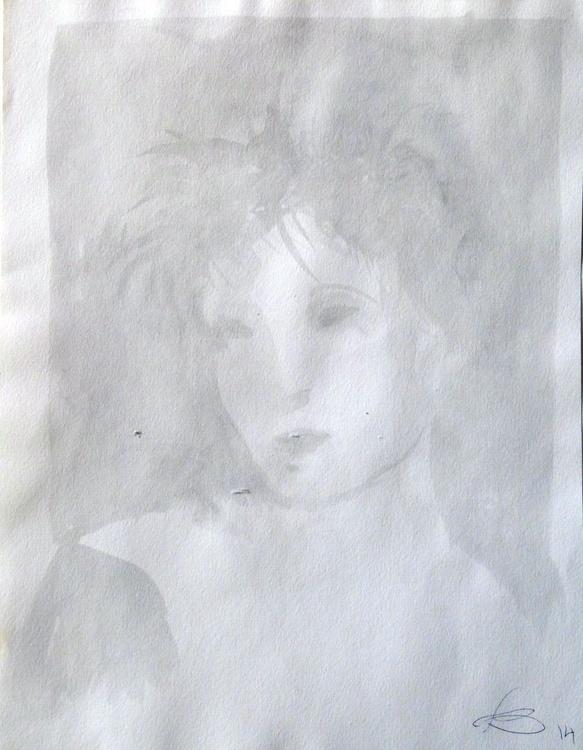 Transparent portrait, 22x28 cm - Image 0