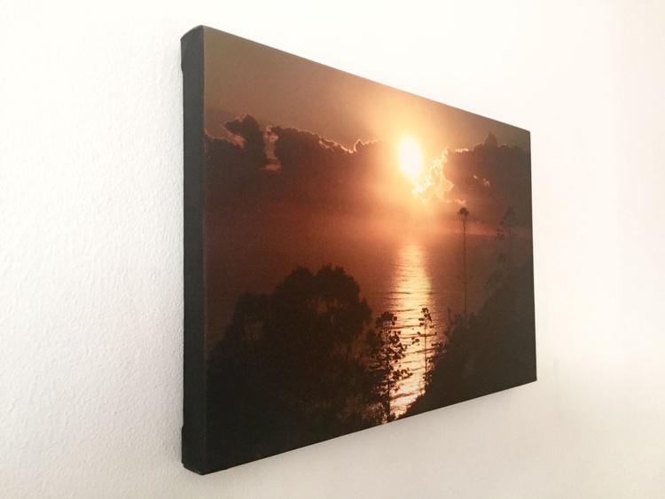 "SUNRISE canvas (Limited edition  1/50) 12""x8"" - Image 0"