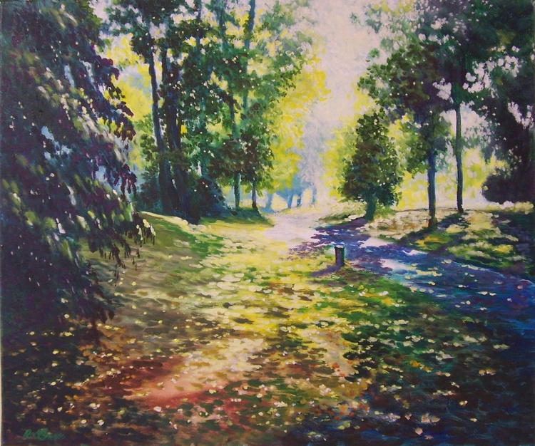 Evening sunlight in the Park - Image 0
