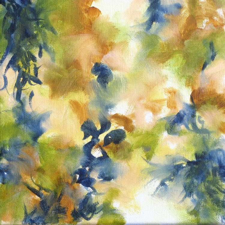 Canopy - Abstract oil painting on canvas - Image 0