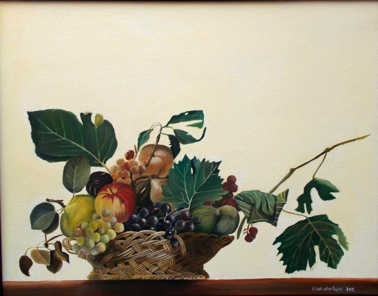 Cesta Caravaggio,copia - Image 0