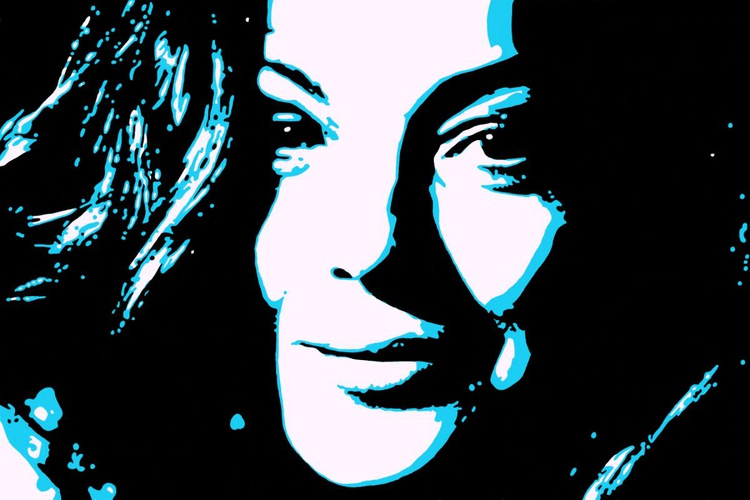 Romy Schneider - Premium Poster Print - 28 x 21 cm - FREE SHIPPING - Image 0