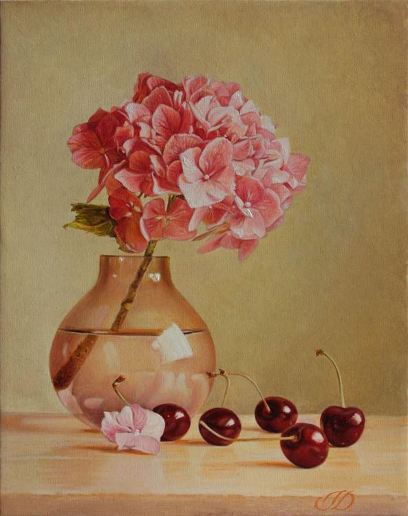 Small still life with hydrangea - Image 0