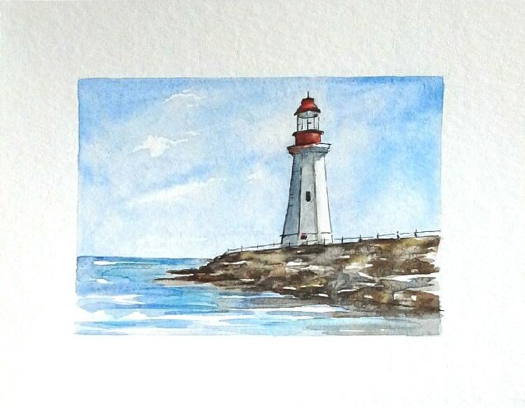 Lighthouse - Seascape - Image 0