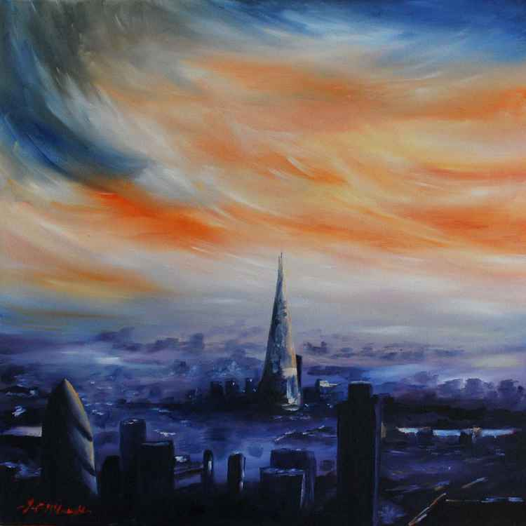 London sunset (The shard) -