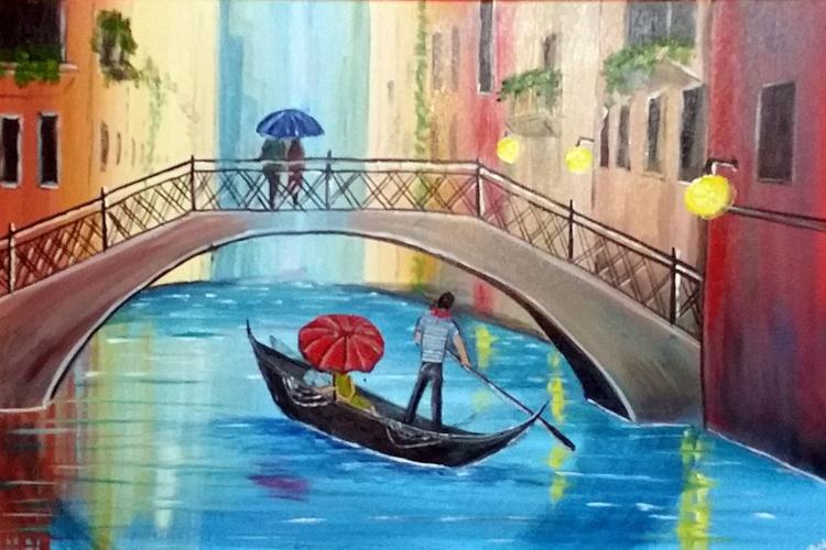 venice Umbrellas - Image 0