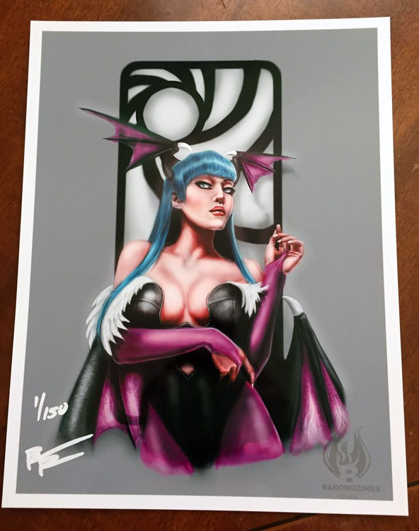 Morrigan Tribute Painting - Image 0