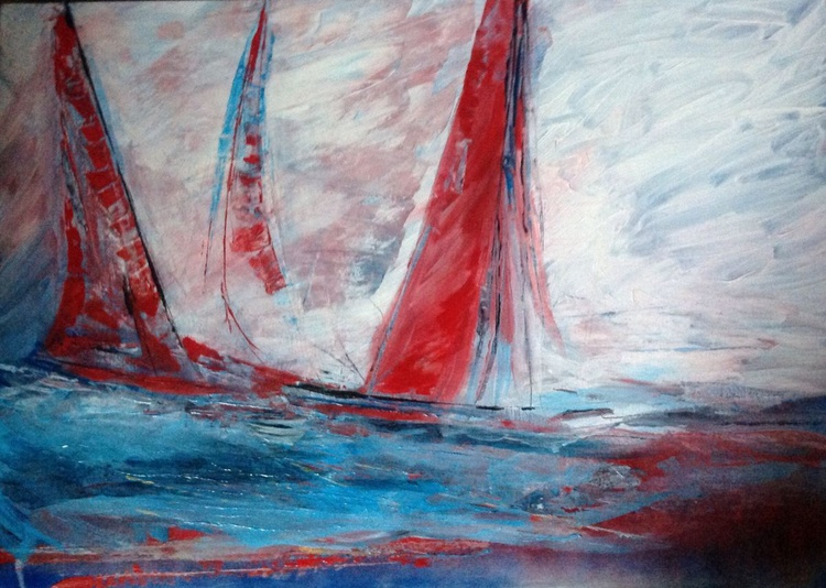 Red sails - Image 0