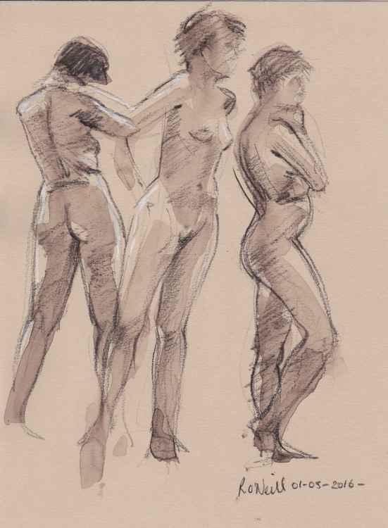 3 nudes -