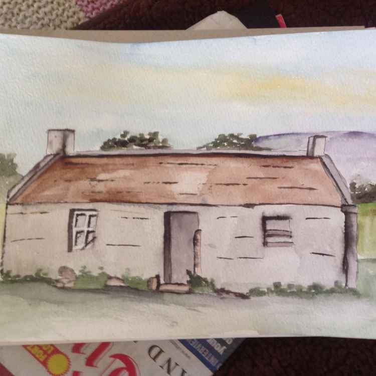The old blackhouse -