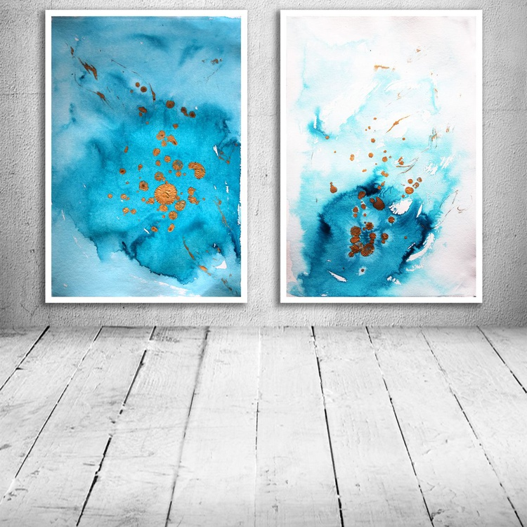4 paintings for Jane - Image 0