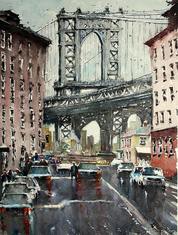 Down under the Manhattan  Bridge - Image 0
