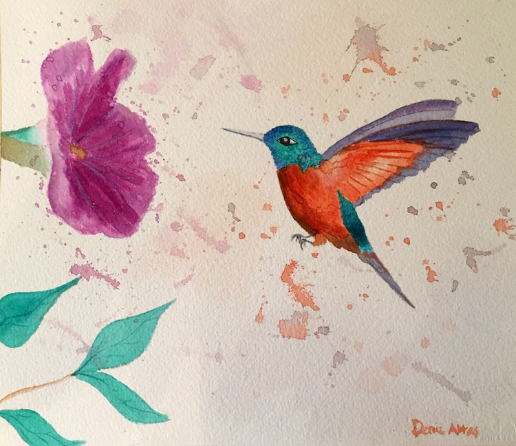 The Little Hummingbird - Image 0
