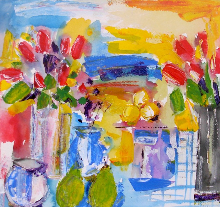 Tulips and Pears - Image 0