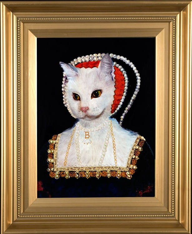 Ann Boleyn a la Holbein - Image 0