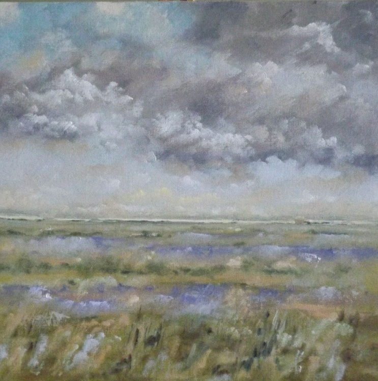 Blakeney Watch House with Late Summer Sea Lavender - Image 0