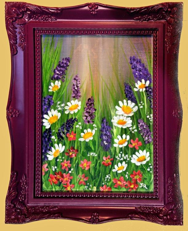 Daisy & Lavender Meadow - Image 0