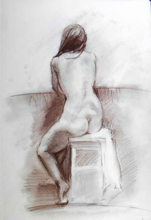 Nude from back N2 -
