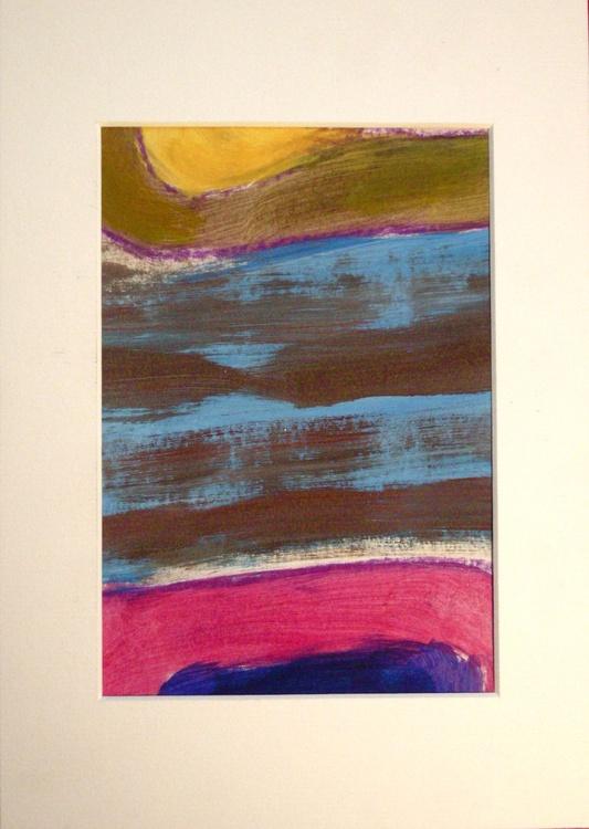 Flow - in 24 x 33 cm Frame - Image 0