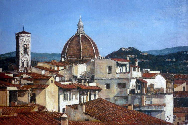 Rooftop in Florence - Image 0