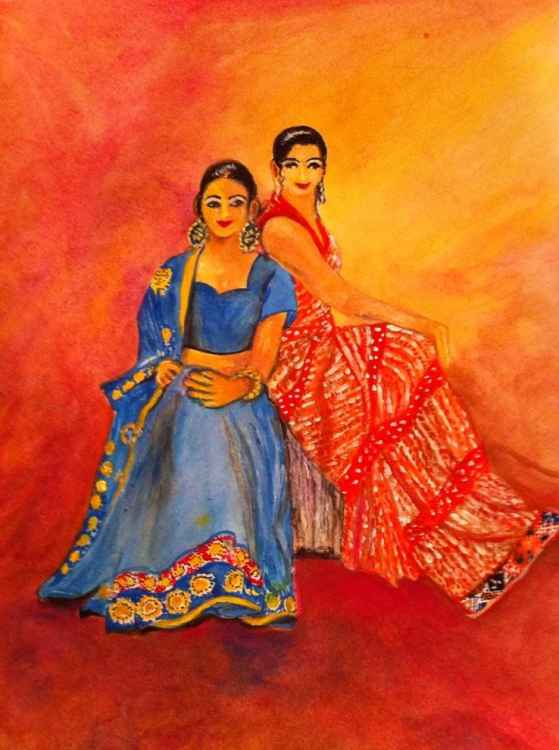 Two Indian sisters -