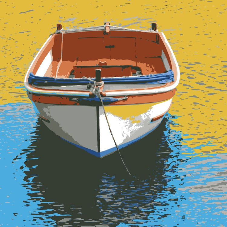 BOAT ON BEACH - Image 0