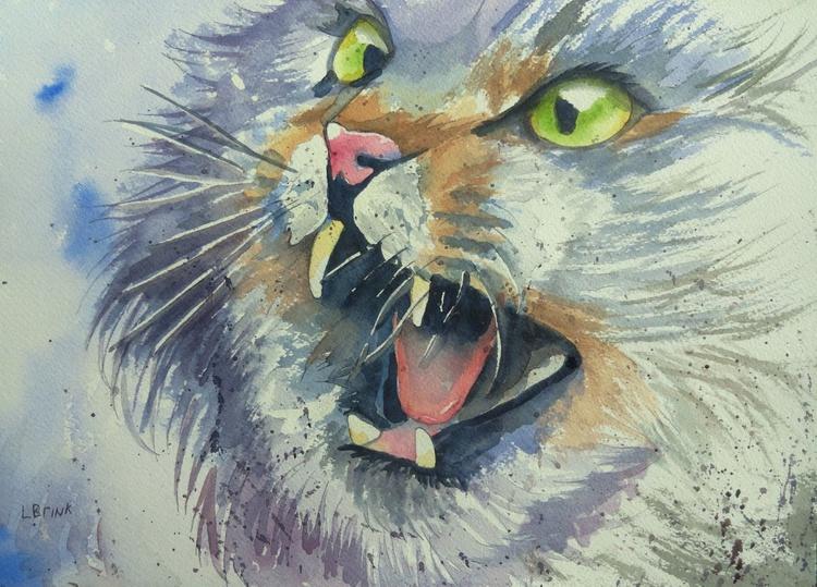 watercolor cat - Image 0