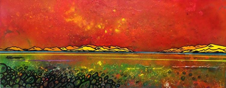 Iona Summer Shore, Hebrides, Scotland - An original Scottish landscape Painting - Image 0