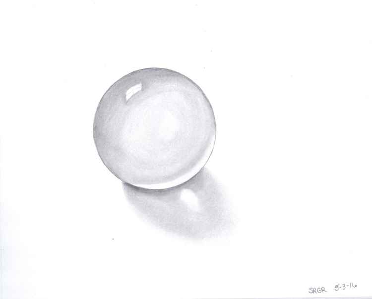 0008 Crystal Ball 08 Drawing -