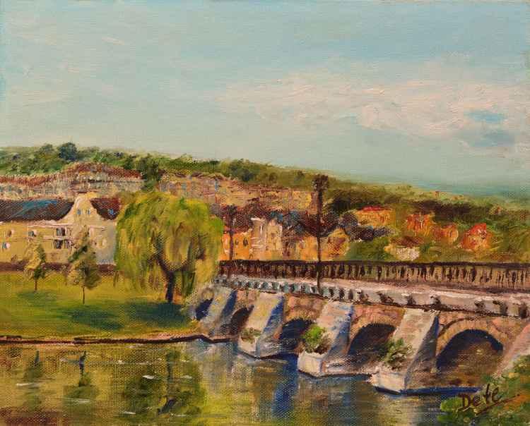 Old bridge of Meulan