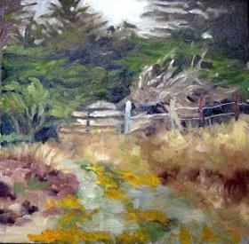 Bodega Gate by Char Wood