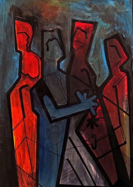 Four Figures - Image 0