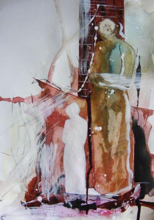 Kneeling shadow nr. 2 - Image 0
