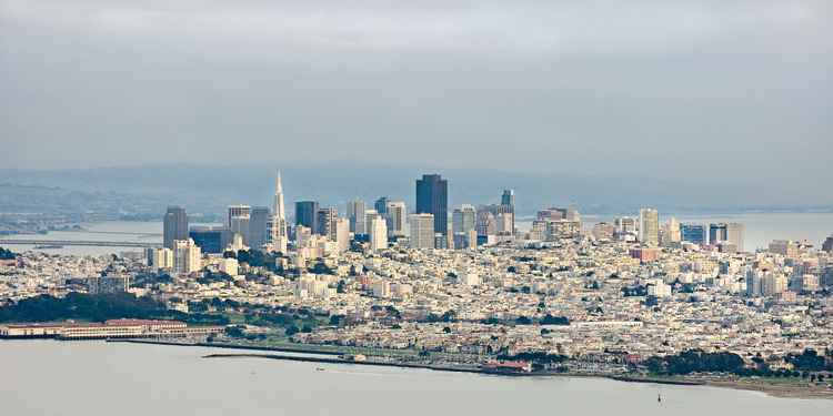 San Francisco Wide Panorama -