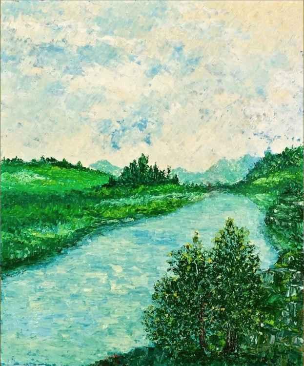 """Lago Montepulciano Toscana"" -"