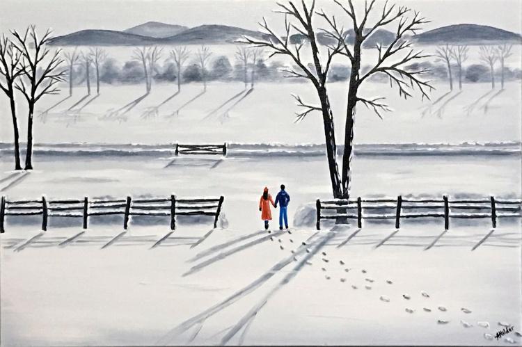 Winter Morning Walk 2 - Image 0