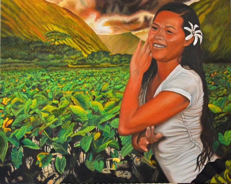 The Taro Farm Girl - Image 0