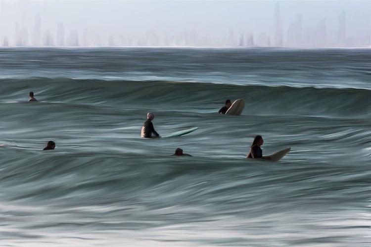 Surfer Skyline - Image 0