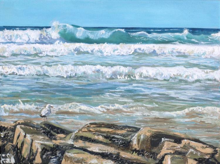 Godrevy Beach, Hayle, Cornwall - Image 0