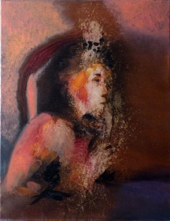 Liquefaction, oil on canvas 50x65 cm - Image 0