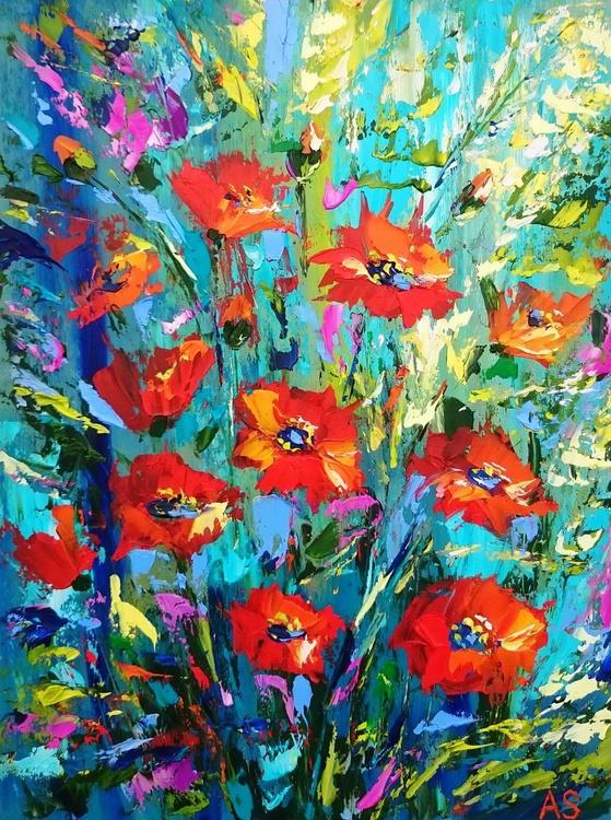 Fiery poppies - Image 0