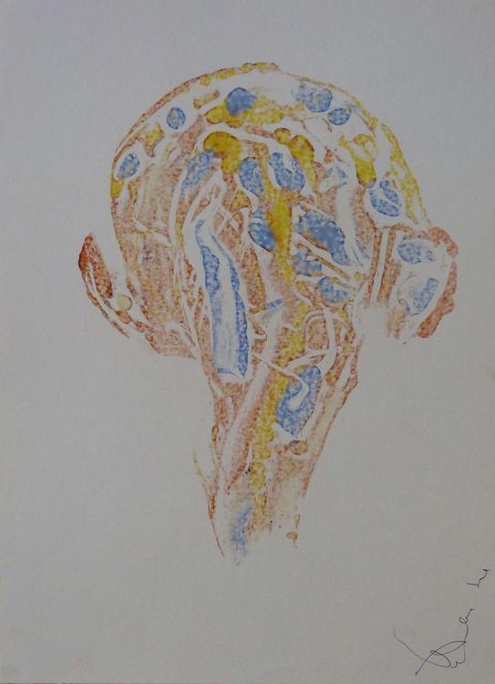 Dany Boon, monoprint, 42x30cm - Image 0