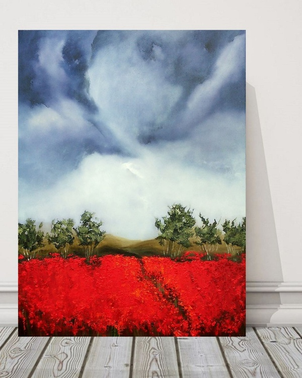 Blooming of red ( 1). Comission - Image 0
