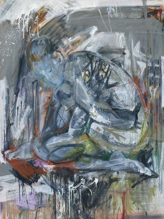 Sitting Female Nude - Image 0