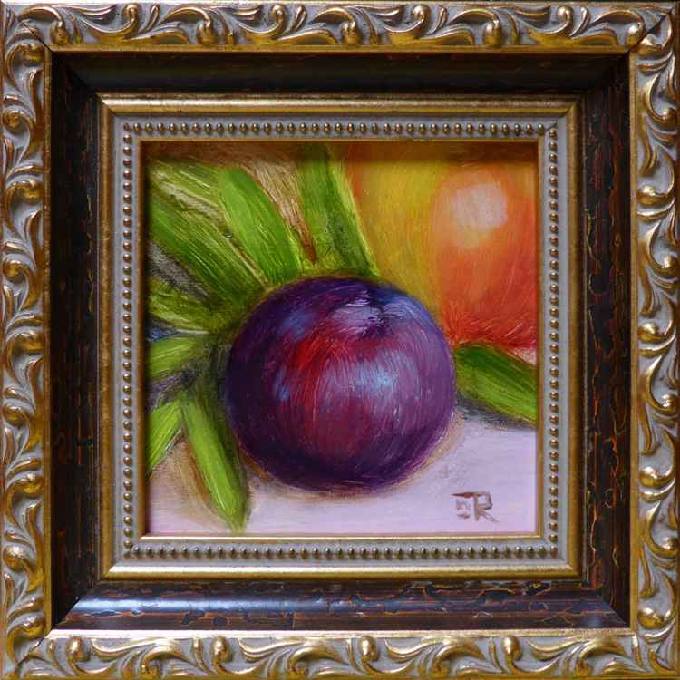 Plum And Apple -