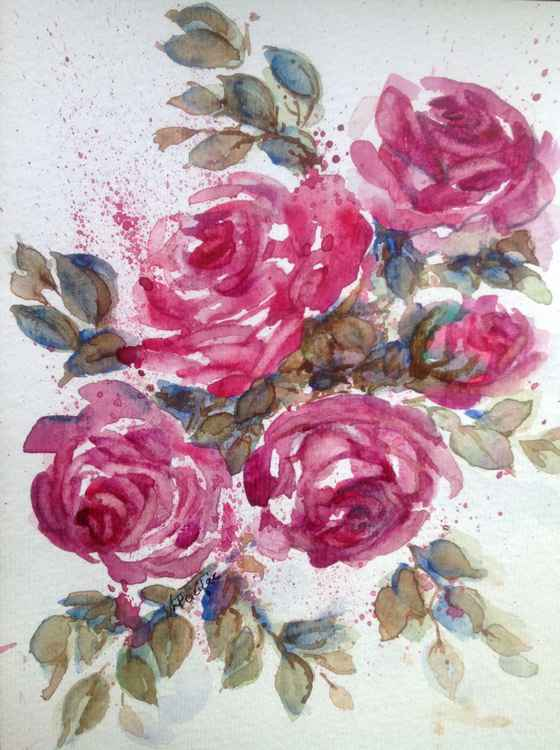 Floral Roses -